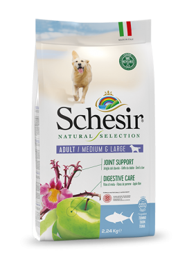 , Medium & Large Rich in Tuna 2.24 kg bag, Schesir - Natural Food For Dogs And Cats