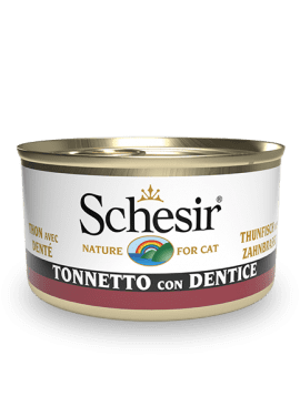 BLUE DELUXE Cat, Schesir - Natural Food For Dogs And Cats