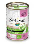 , Organic wet food for dogs with a single source of protein – BIO Pork 400g can, Schesir - Natural Food For Dogs And Cats