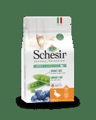 , Crocchette naturali per gatti sterilizzati – Sterilized Ricco in anatra sacco 350 g, Schesir - Alimenti Naturali Per Cani E Gatti