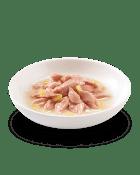 , Cibo umido per gatti con pesce – Tonnetto con Mango lattina 75 g, Schesir - Alimenti Naturali Per Cani E Gatti