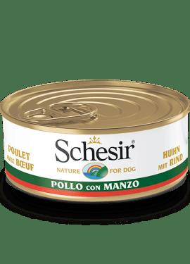 , Schesir Country, umido per cani con carne, Schesir - Alimenti Naturali Per Cani E Gatti