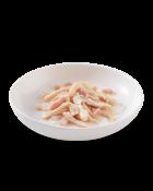 , Cibo umido per gatti – Filetti di pollo con prosciutto lattina 6×50 g, Schesir - Alimenti Naturali Per Cani E Gatti
