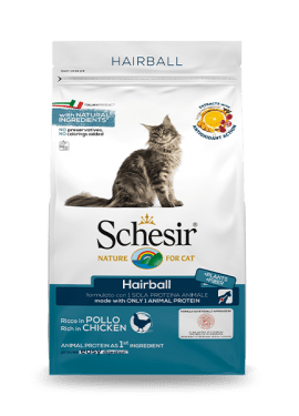 Original Cat Hairball Line, Schesir - Natural Food For Dogs And Cats