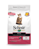 , Dry food for adult cats with a single protein source – Adult with Ham 400 g bag, Schesir - Natural Food For Dogs And Cats