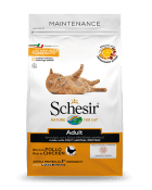 , Dry food for adult cats with a single protein source – Adult Rich in Chicken 1.5 kg bag, Schesir - Natural Food For Dogs And Cats