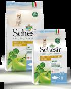 , Crocchette naturali per cani adulti – Small & Toy Adult Delicate Ricco in tonno sacco 2,24 kg + 490 g, Schesir - Alimenti Naturali Per Cani E Gatti